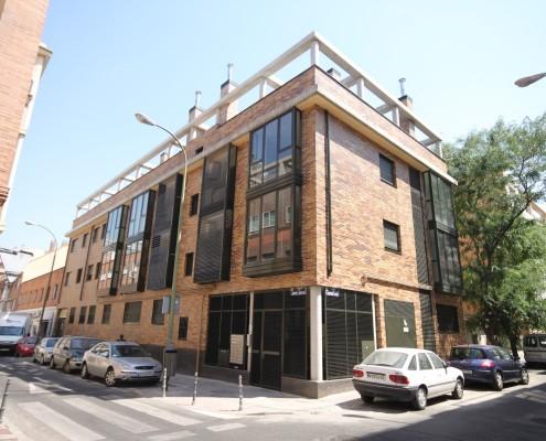 Edificio obra Nueva en Madrid