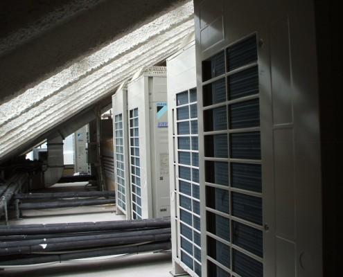 Instalación climatización edificio