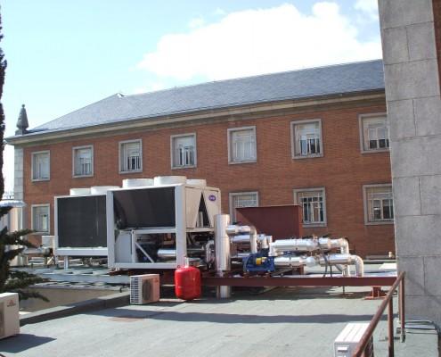 Instalación Climatización Oficinas