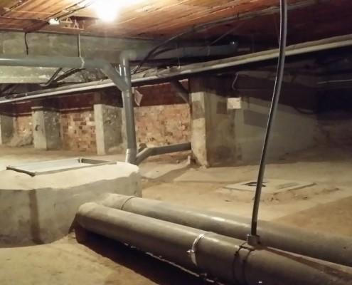 saneamiento horizontal