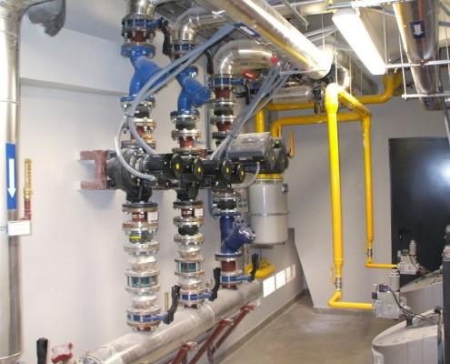 Sistema Calefacción de Edificio