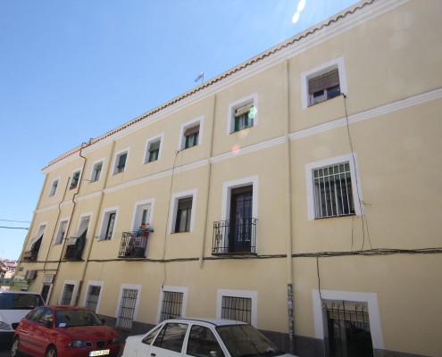 Rehabilitación de fachada antigua