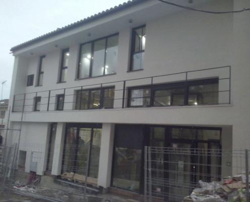 Rehabilitación de fachada en casa