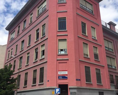Rehabilitación de fachada protegida